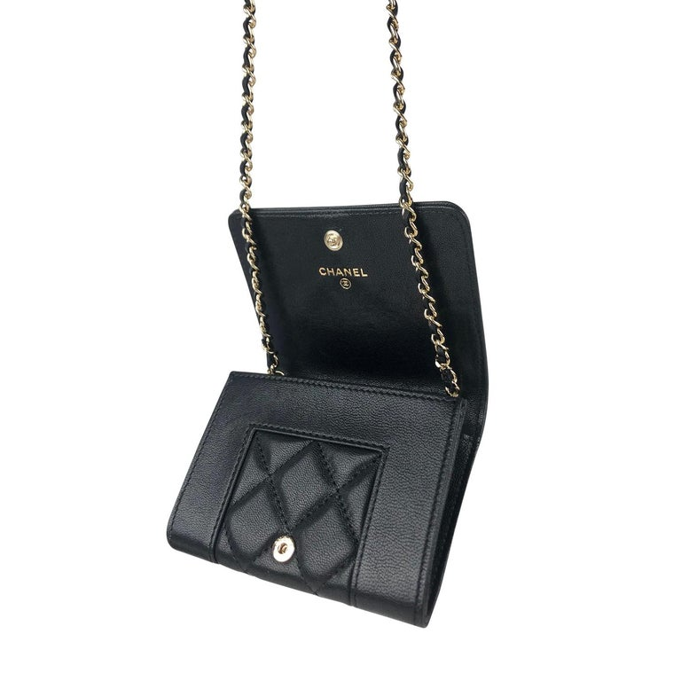 Chanel Mademoiselle Wallet on Chain Crossbody Bag For Sale 3