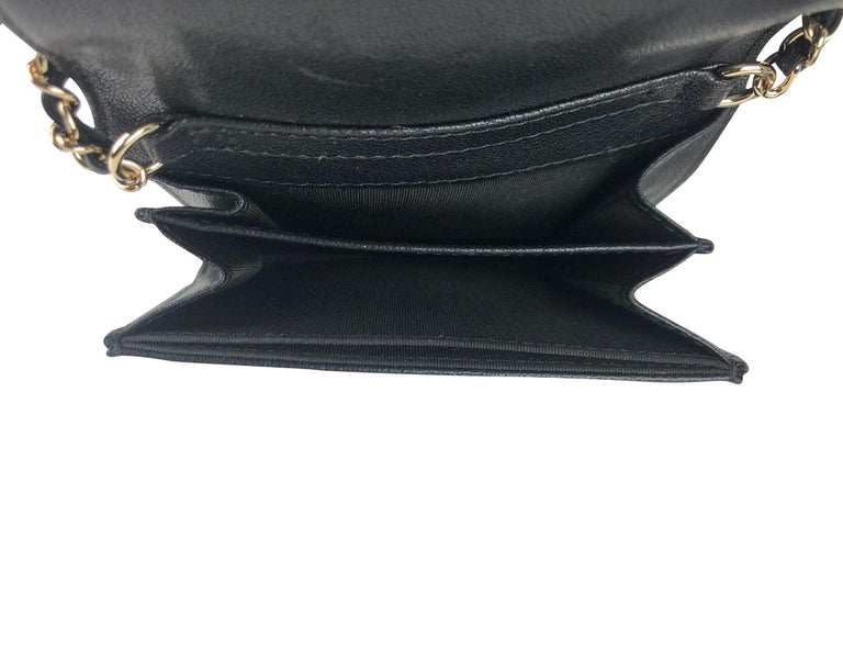 Chanel Mademoiselle Wallet on Chain Crossbody Bag For Sale 4