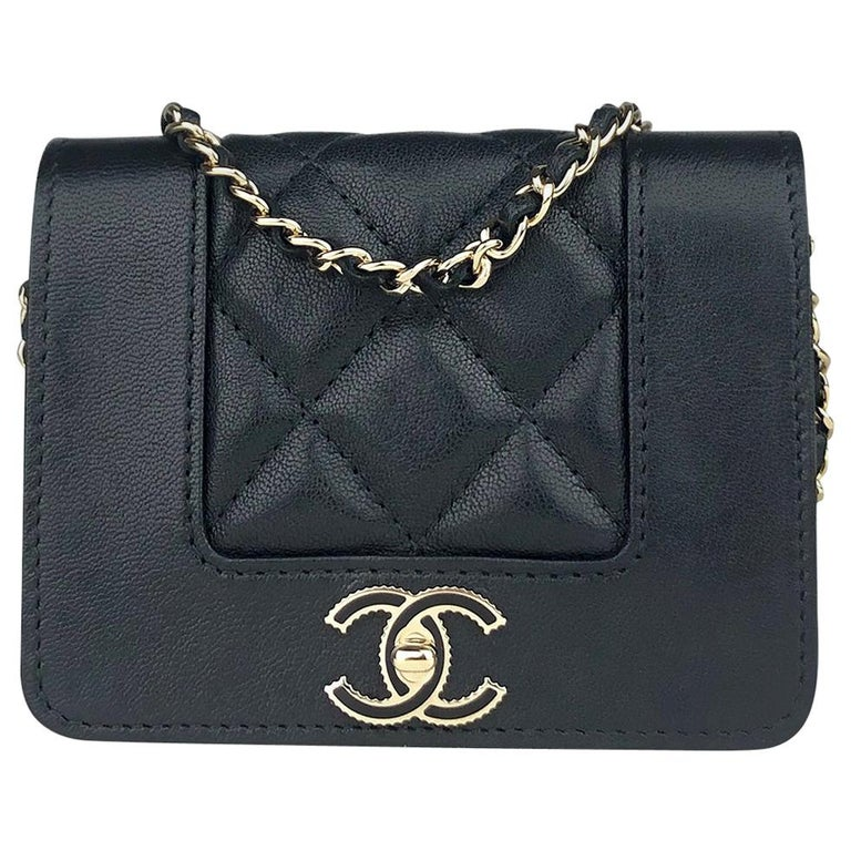 Chanel Mademoiselle Wallet on Chain Crossbody Bag For Sale