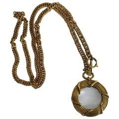 Chanel Magnifying Glass Pendant Sautoir