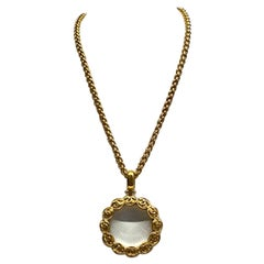 Chanel Magnifying Lens Pendant Necklace, Autumn 1997 Collection