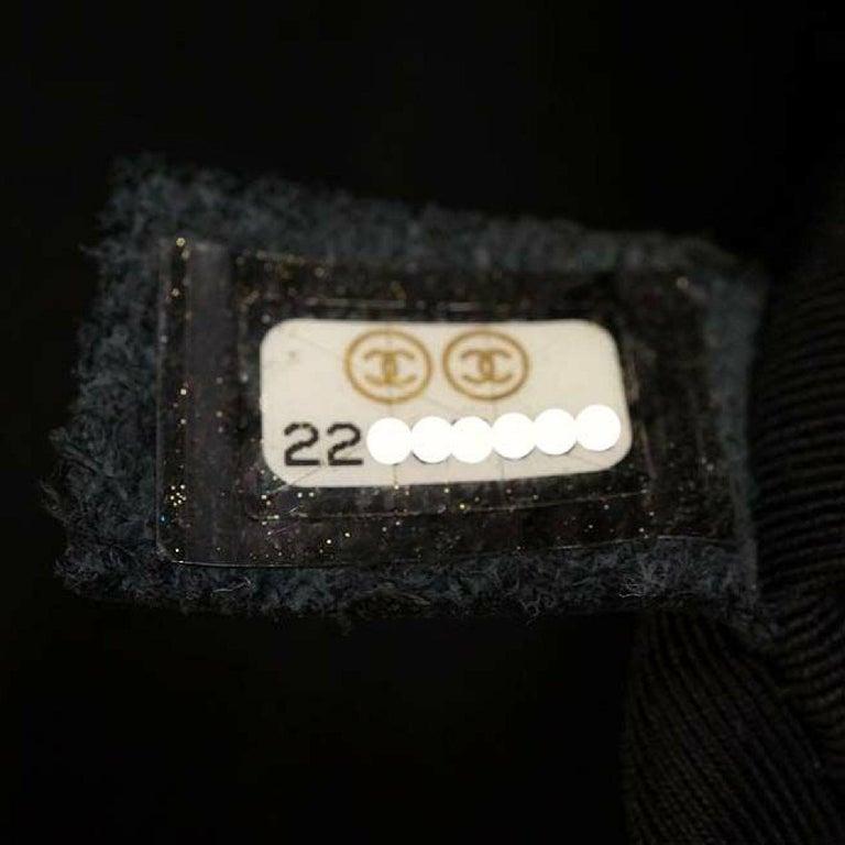 CHANEL matelasse chain shoulder  Camera bag Womens shoulder bag black x antique  For Sale 7