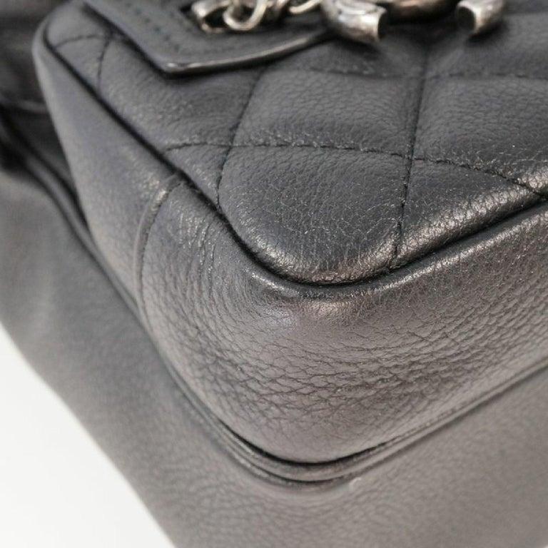 Women's CHANEL matelasse chain shoulder  Camera bag Womens shoulder bag black x antique  For Sale