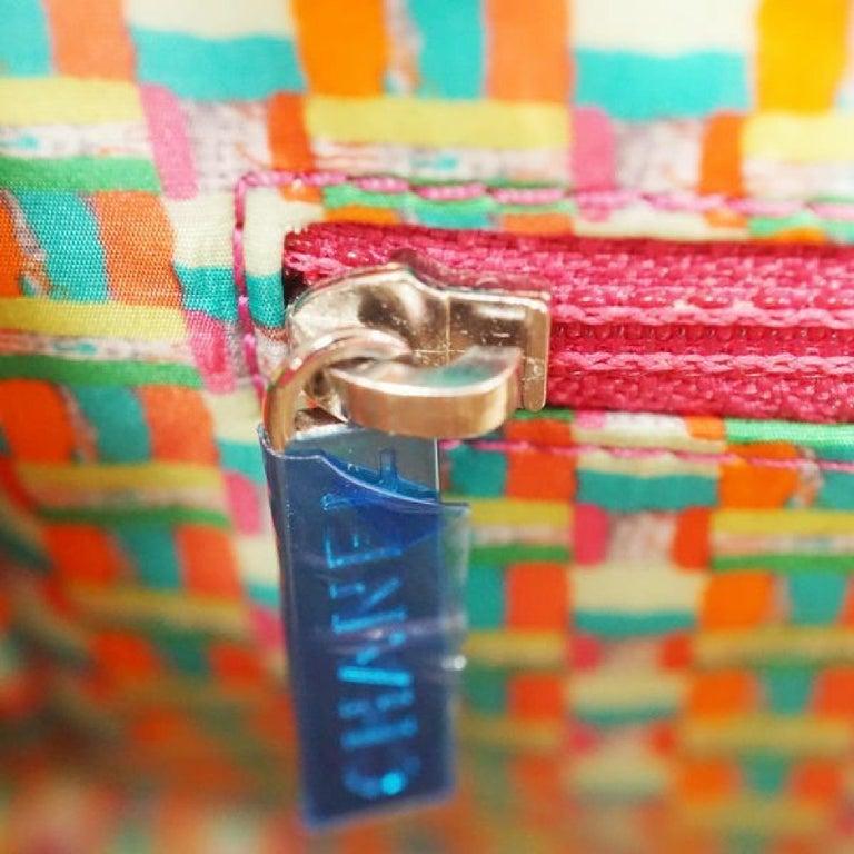CHANEL matelasse chain shoulderー Womens shoulder bag pink x silver hardware For Sale 7