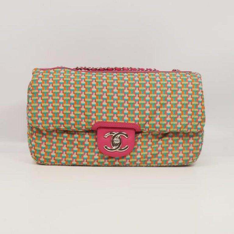 CHANEL matelasse chain shoulderー Womens shoulder bag pink x silver hardware For Sale 8