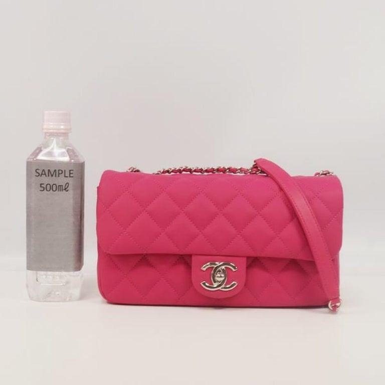 CHANEL matelasse chain shoulderー Womens shoulder bag pink x silver hardware For Sale 9