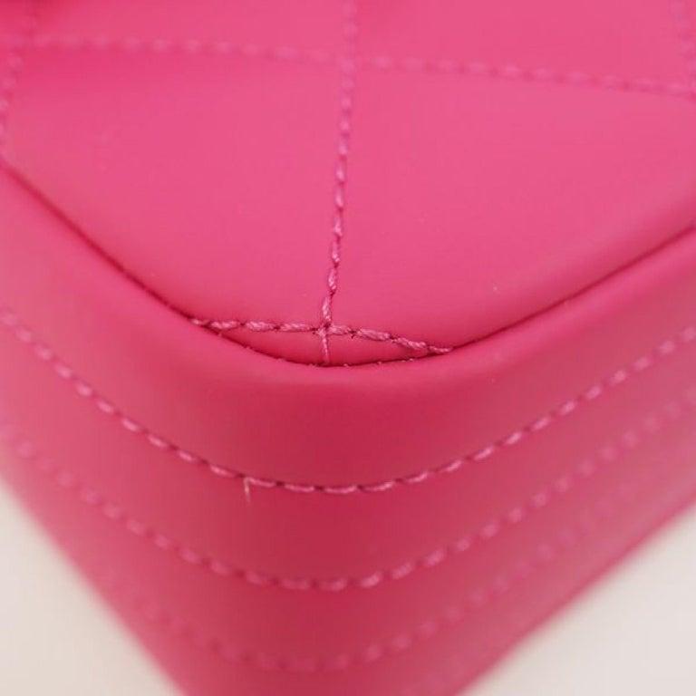 CHANEL matelasse chain shoulderー Womens shoulder bag pink x silver hardware For Sale 1