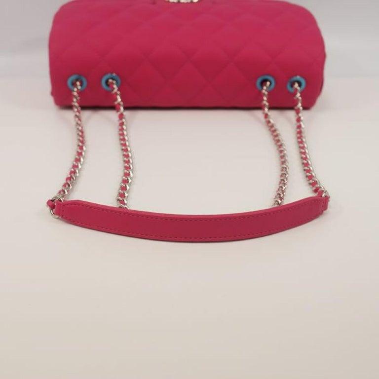 CHANEL matelasse chain shoulderー Womens shoulder bag pink x silver hardware For Sale 2