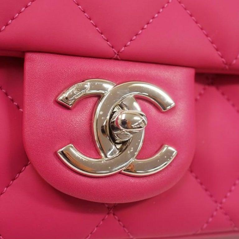 CHANEL matelasse chain shoulderー Womens shoulder bag pink x silver hardware For Sale 3