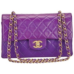 Chanel Matelasse Double Flap Chain Shoulder Bag