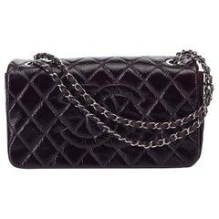 Chanel Matelasse Patent Leather Shoulder Bag