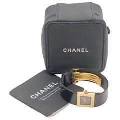 Chanel Matelasse Yellow Gold Ladies Quartz Wrist Watch