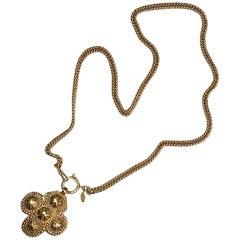 Chanel Medalion Pendant Necklace, Season 23, 1986