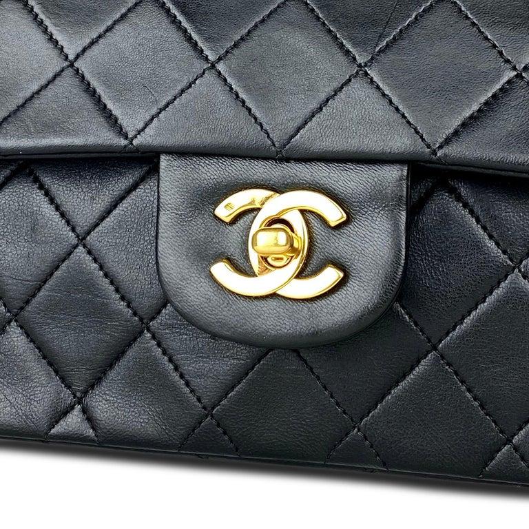 Chanel Medium Black Classic Double Flap Bag 1