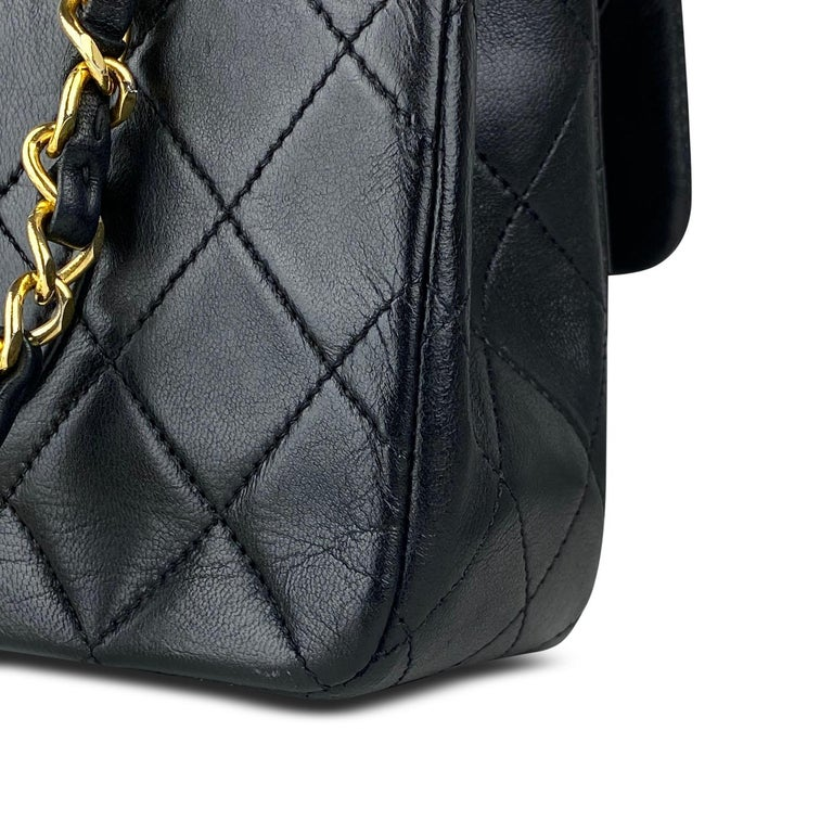 Chanel Medium Black Classic Double Flap Bag 3