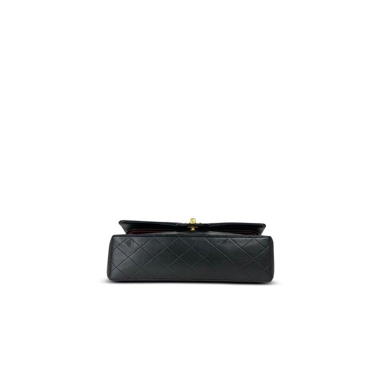 Chanel Medium Black Classic Double Flap Bag 4