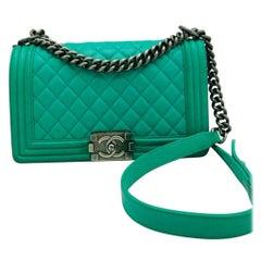 Chanel Medium Boy Bag - Emerald Green