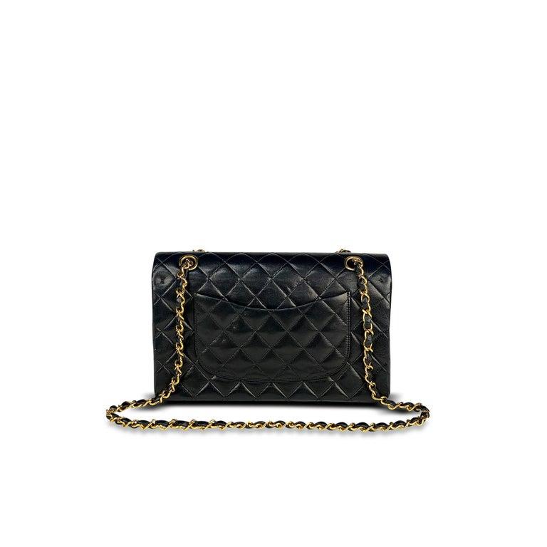 Black Chanel Medium Classic Double Flap Bag