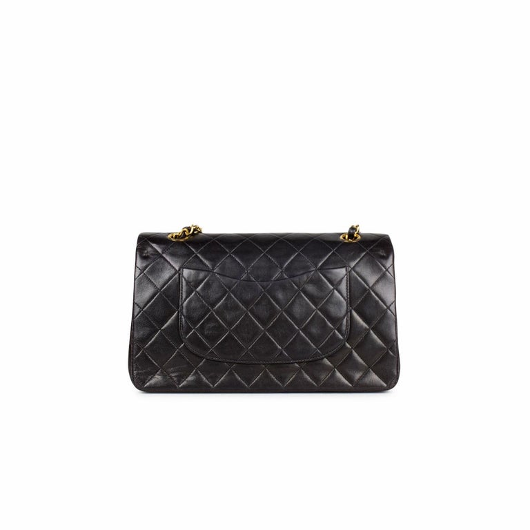 Black Chanel Medium Classic Double Flap Bag