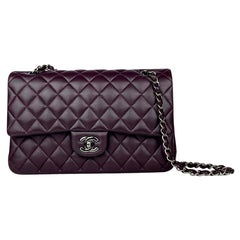 Chanel Medium Purple Classic/Timeless Double Flap Bag