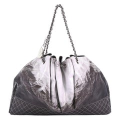 Chanel Melrose Degrade Cabas Tote Patent