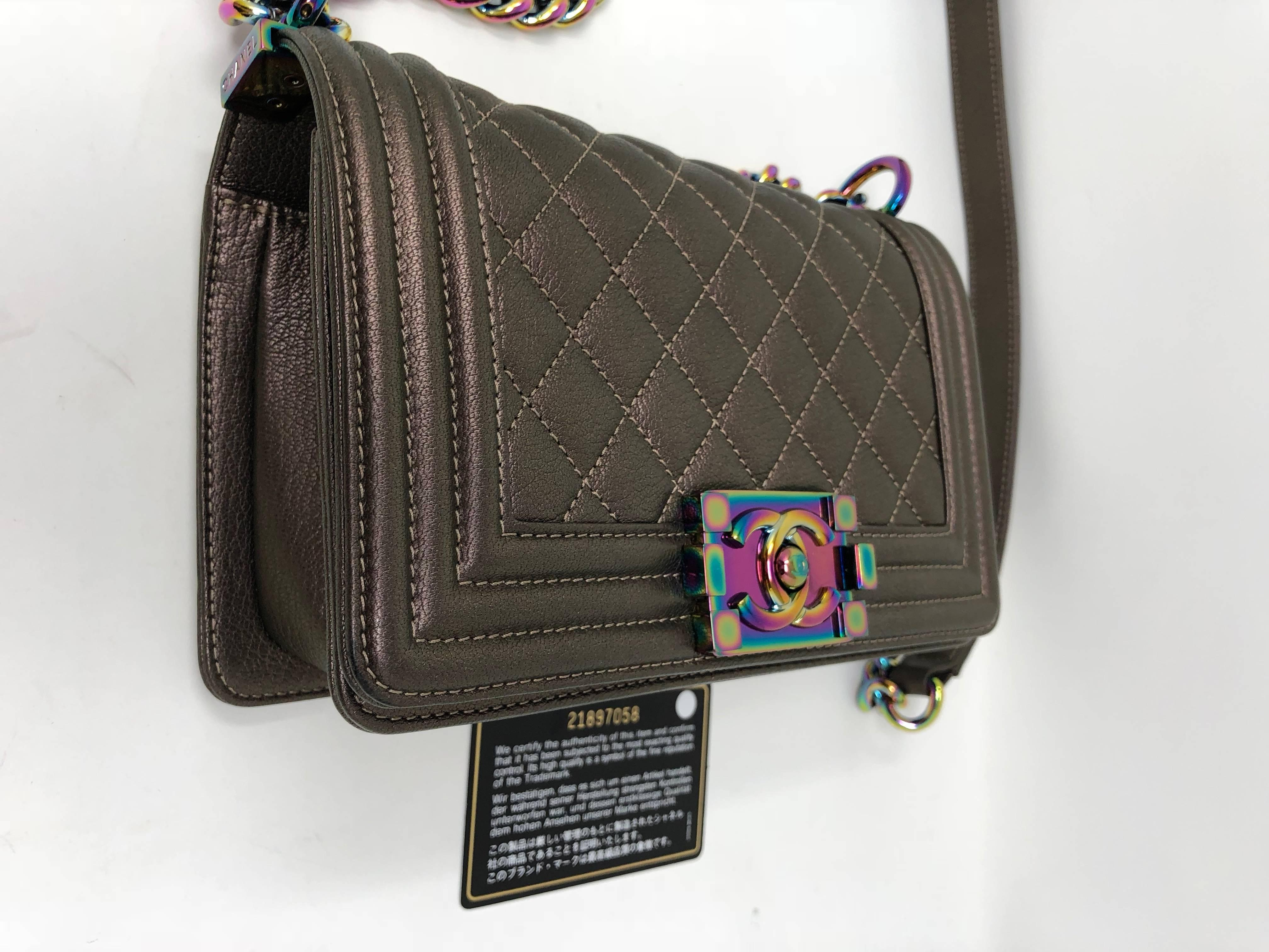 39c15ed81f29 Chanel Mermaid Le Boy Bag at 1stdibs