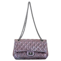 Chanel Metallic Lavender Reissue Flap Bag