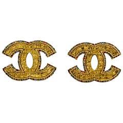 Chanel Metiers d'Art 2019 CC Earrings