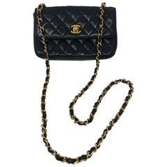 Chanel Mini Black Crossbody Bag