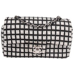 Chanel Mini Classic - black & white