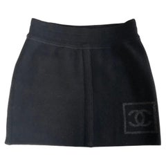 Chanel Mini skirt Wool Size 36