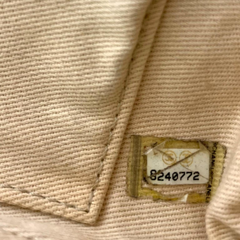 Chanel Mixed Media Snakeskin Flap Bag For Sale 9