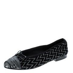 7c84e1d08e5f Chanel Dark Blue Suede and Black Patent Leather Cap Toe Platform ...