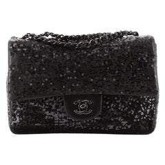 Chanel Moonlight On The Water Flap Bag Sequins Small