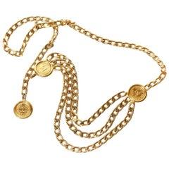 Chanel Multi-Chain & Coin Detail Belt (Lagerfeld)
