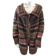 Chanel Multi-Color Wool Cardigan