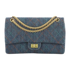 Chanel Multicolor Stitch Reissue 2.55 Flap Bag Quilted Denim 226