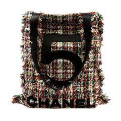 Chanel Multicolor Tweed No. 5 Tote