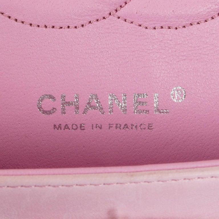 CHANEL multicolor TWEED TIMELESS CLASSIC MEDIUM FLAP Shoulder Bag 3