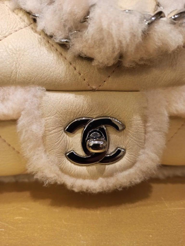 Chanel Mutton Classic Bag In Excellent Condition For Sale In Gazzaniga (BG), IT