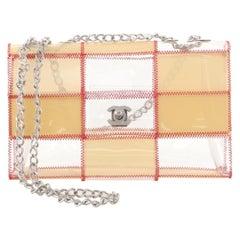 Chanel Naked Patchwork Flap Bag PVC Medium