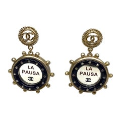 "Chanel Nautical ""La Pausa"" Earrings, 2019 Cruise Collection"