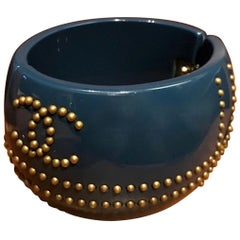 Chanel Navy Blue Cuff Autumn 2007 Collection