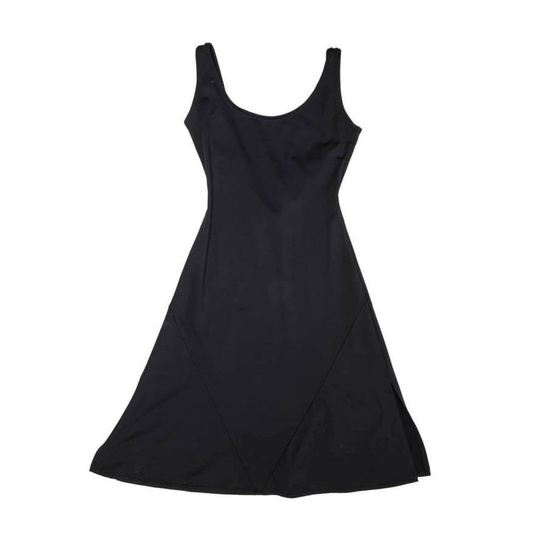 CHANEL Navy Skater Sleeveless Dress Size 36FR