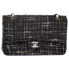 Chanel Navy Tweed Flap Bag