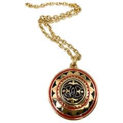 Chanel Necklace Vintage 1970s Pendant