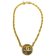 CHANEL Necklace Vintage 1980s