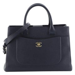 Chanel Neo Executive Tote Grained Calfskin Medium