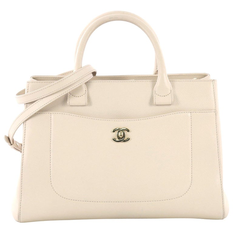 Chanel Neo Executive Tote Grained Calfskin Small