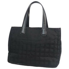CHANEL New Travel Line tote MM tote bag A15991 black